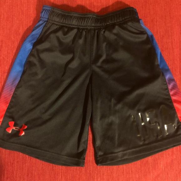 49420b9c76 Boys Under Armour USA Shorts-Sz S